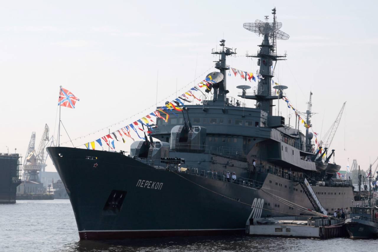 ВБолгарии отремонтировали учебный корабль «Перекоп» Балтийского флота