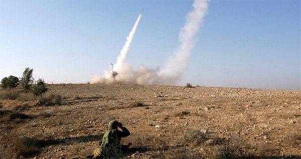 Израиль нанёс удар по территории сирийского военного аэродрома