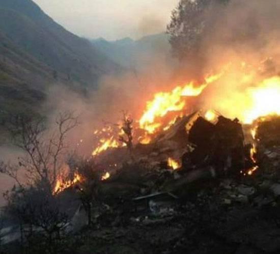 Подтвердилась информация об авиакатастрофе в Пакистане