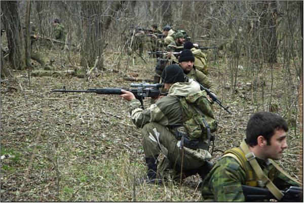В Сирию отправляется чеченский спецназ