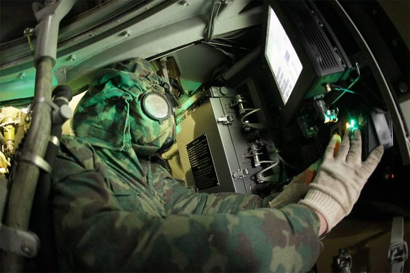 В Курскую бригаду поставлены 12 РХМ-6