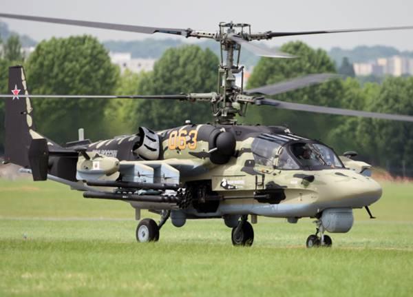 В войска поставлена очередная партия Ка-52