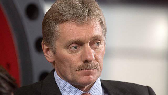 Песков прокомментировал санкционную риторику Вашингтона, связанную с поддержкой Москвой режима Асада