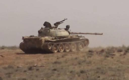 Боевики ИГИЛ предприняли наступление на Пальмиру
