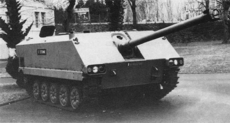 Экспериментальная самоходная артиллерийская установка AMX-10M ACRA (Франция)
