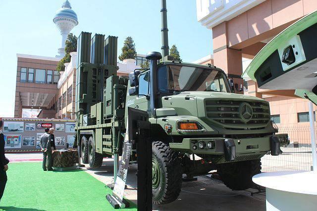 터키는 HISAR-O 방공 시스템을 성공적으로 테스트했습니다.