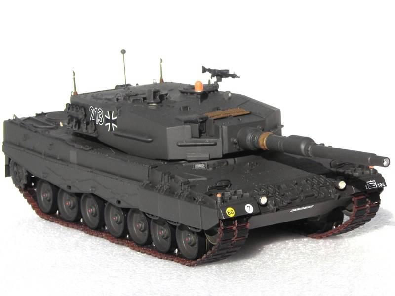 Немецкий основной боевой танк Leopard 2: этапы развития. Часть 5