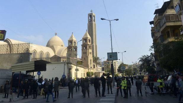 Теракт в кафедральном соборе коптской церкви в Каире