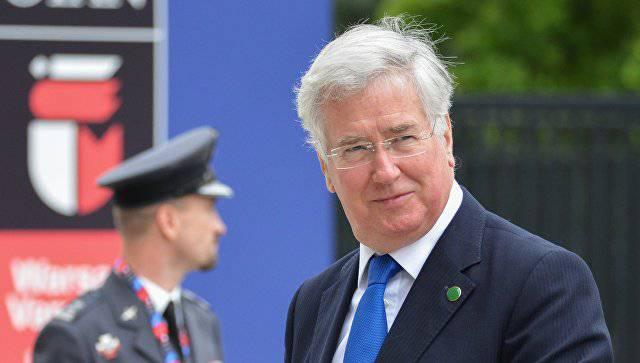 Министр обороны Англии: К Российской Федерации нельзя относиться как кравной, она— соперник
