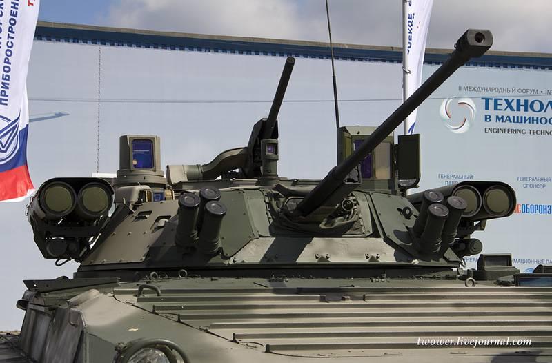 Главком: завершается работа по повышению управляемости БМП-2 с «Бережком»