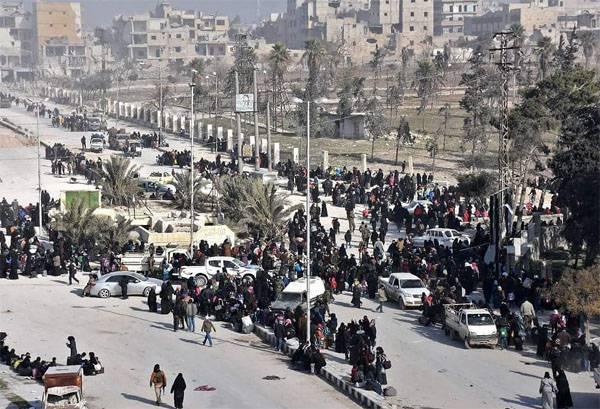О положении дел в Алеппо и Пальмире