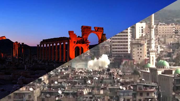 Пальмира изранена в боях за Алеппо