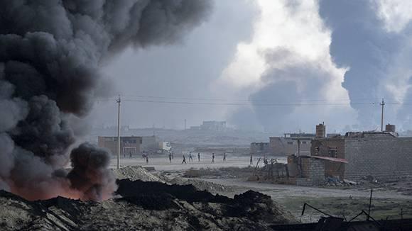 Западная коалиция снизила количество авиаударов по объектам террористов