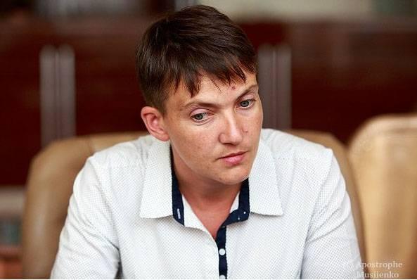 Политический розыгрыш Надежды Савченко на украинском ТВ