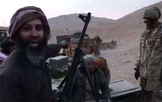 "Militantes IG afirmación acerca de tomar ""la base militar de Rusia"" en Palmyra"