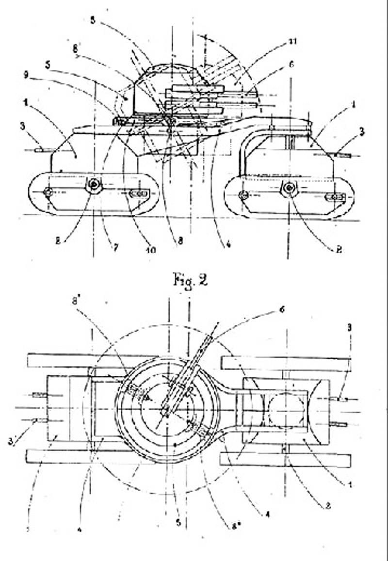 Проекты боевых машин Char Varlet (Франция)