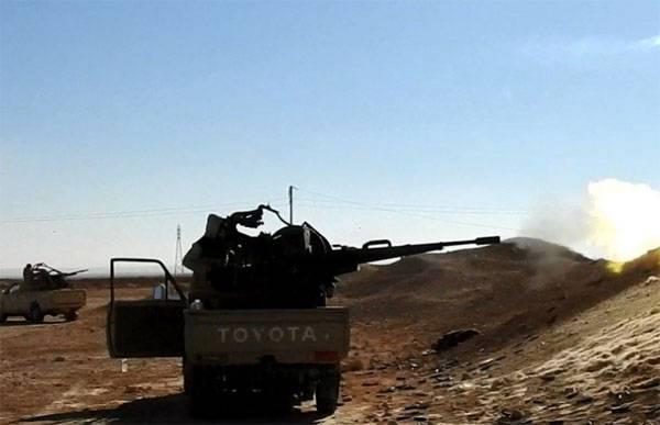 Отбита атака боевиков ИГ на авиабазу Тийас к западу от Пальмиры