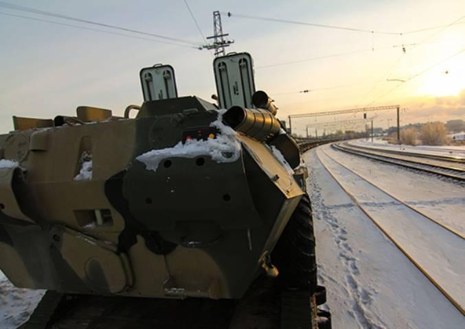 Новая бригада под Самарой получила партию БТР-82А