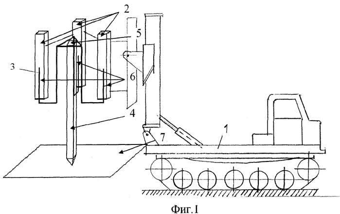 Установка забивки анкеров и свай УЗАС-2