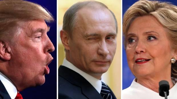 """Американский телеканал: """"Путин лично вмешался в президентские выборы в США"""""""