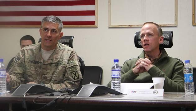 """Генерал Таунсенд (США): """"Россия и Сирия должны контратаковать игиловцев в Пальмире"""""""