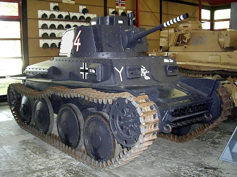 LT-35 и LT-38: два чешских танка-близнеца