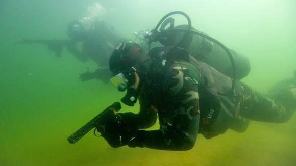 В РФ создан подводный планшет для спецподразделений