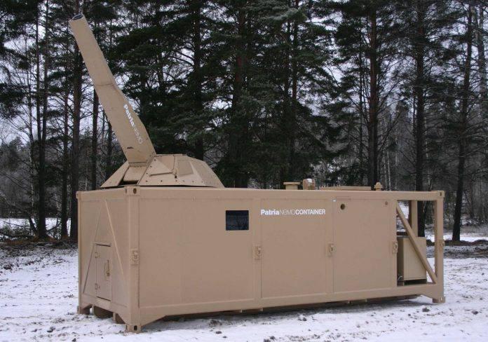 В Финляндии разработан контейнеризированный вариант миномета NEMO