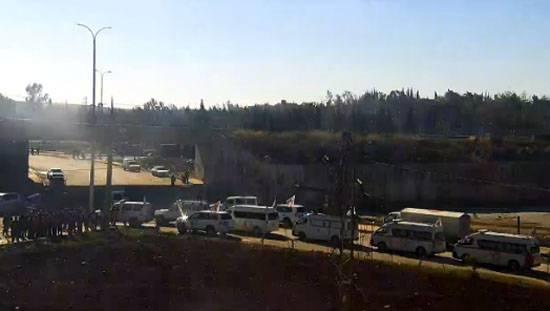 МО РФ информирует о подготовке к выходу боевиков из восточного Алеппо