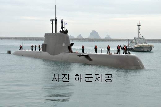 В Южной Корее началось строительство третьего подводного ракетоносца