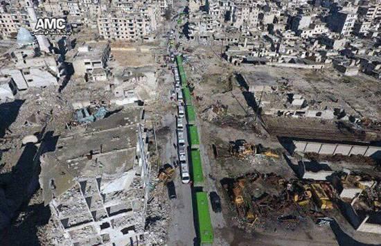МО РФ: Боевики незаконных вооружённых формирований выбиты из всех кварталов Алеппо