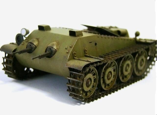 Подвижное пулеметное гнездо / танкетка «Объект 217»