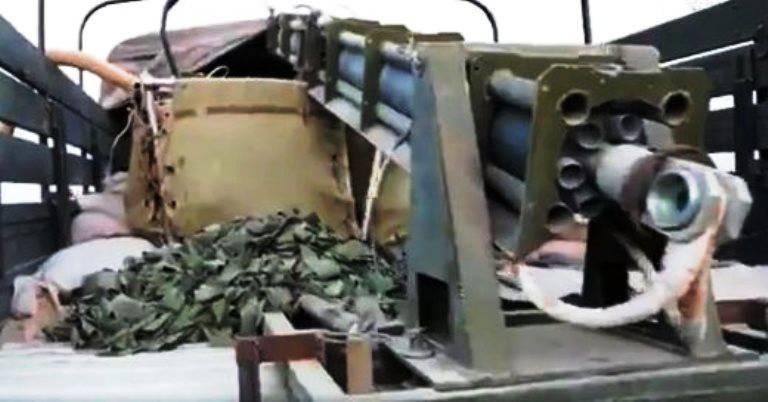 Под Пальмирой в руки боевиков попал российский «Змей Горыныч»