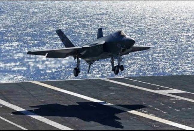 С 2021 г американские самолеты смогут использовать авианосцы ВМС Британии
