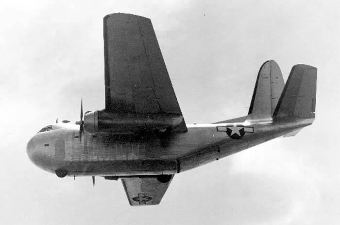 Военно-транспортный самолет Budd RB-1 / C-93 Conestoga (США)