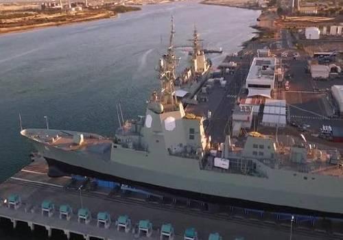 В Австралии спущен на воду второй эсминец, оснащенный системой AEGIS