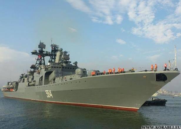 Корабли ТОФ вышли из индийского порта для участия в учении «ИНДРА НЭВИ»
