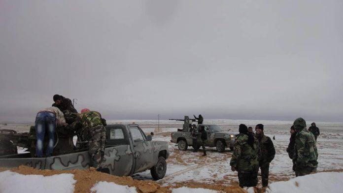 СМИ: В районе Пальмиры сбит российский вертолёт