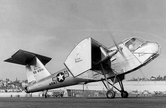 Экспериментальный самолет Ryan Model 92 / VZ-3 Vertiplane (США)