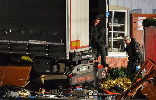 В Берлине произошел терракт