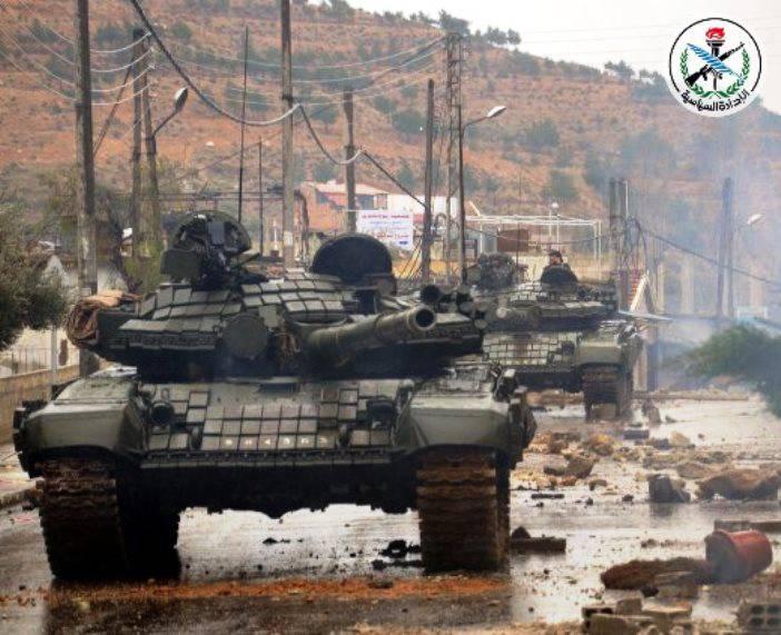 В Сирии замечены новые танки, еще не участвовавшие в боях