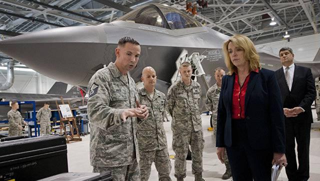 Министр ВВС США тоже считает Россию главной угрозой
