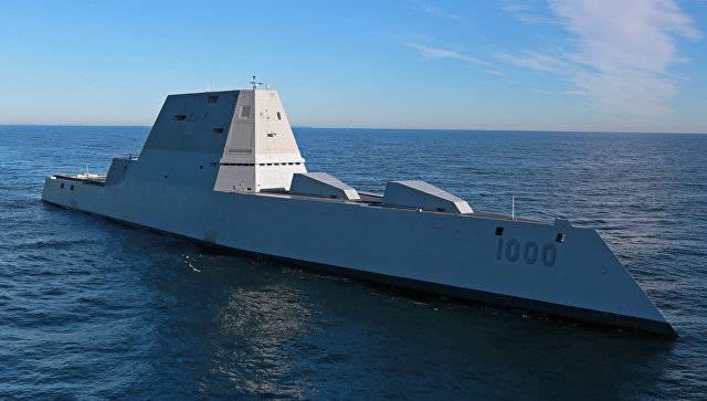 Строительство эсминца Zumwalt оказалось «пустой тратой денег»