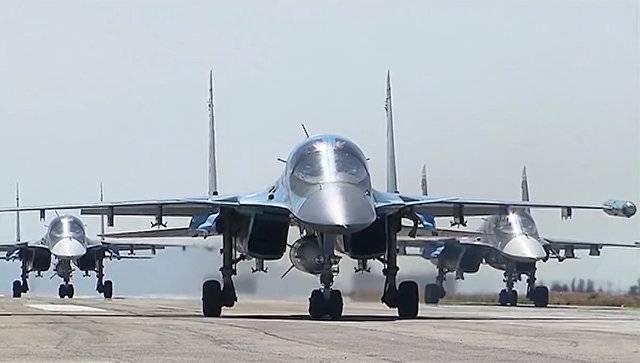 ВКС РФ: за время АТО в Сирии совершено более 30 тыс боевых вылетов