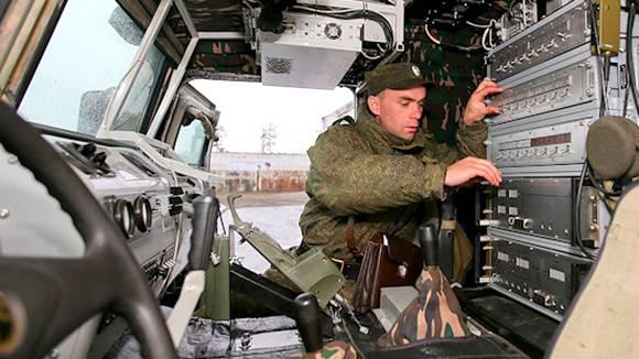 Российскую военную технику оснастят новой информационно-управляющей системой