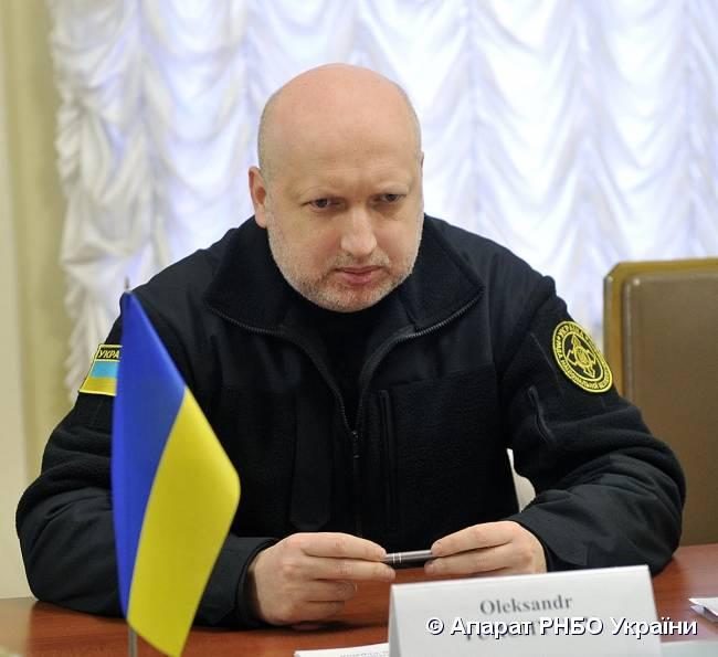 Турчинов: ВСУ захватили позиции под Дебальцево