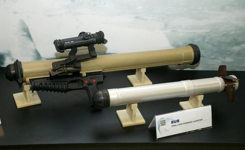 Российские спецслужбы получили первые партии гранатометов «Бур»