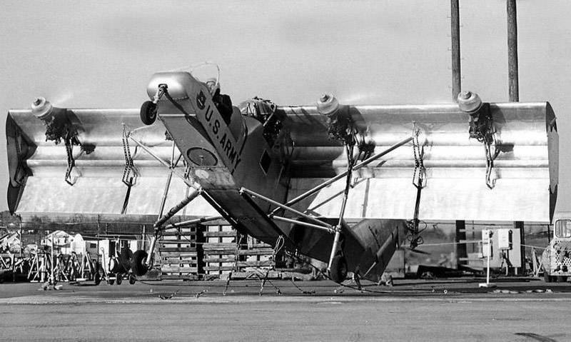 Экспериментальный самолет Fairchild VZ-5 Fledgling (США)