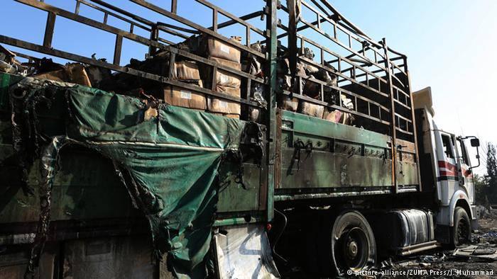 Комиссия ООН не смогла установить виновных удара по гумконвою ООН в провинции Алеппо
