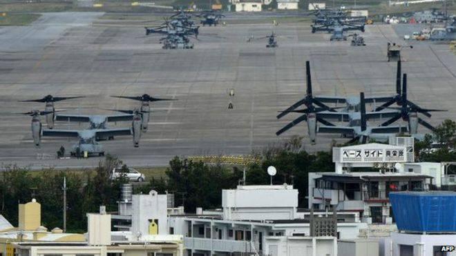 США возвращают японцам участок земли на Окинаве
